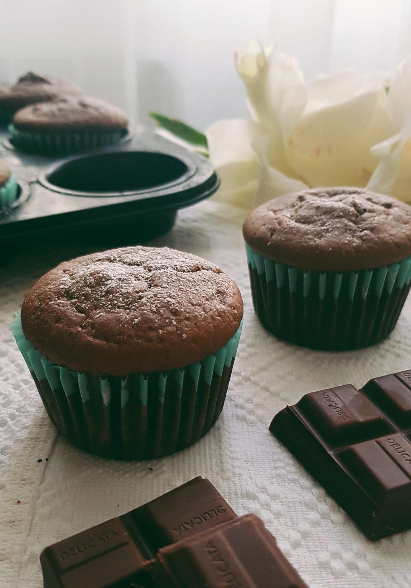 Briose cu cacao fara zahar