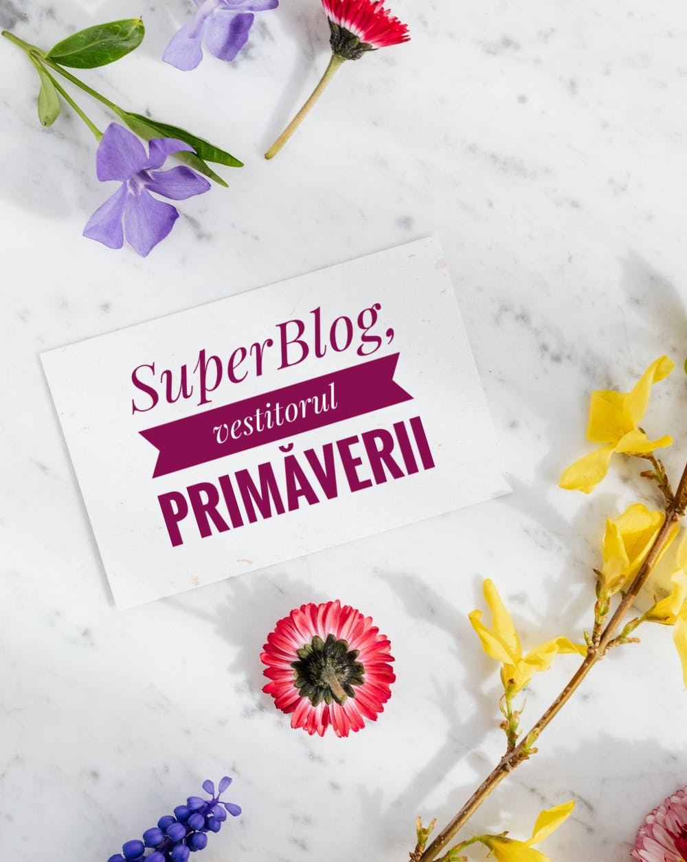 Vine, vine primăvara cu Spring SuperBlog