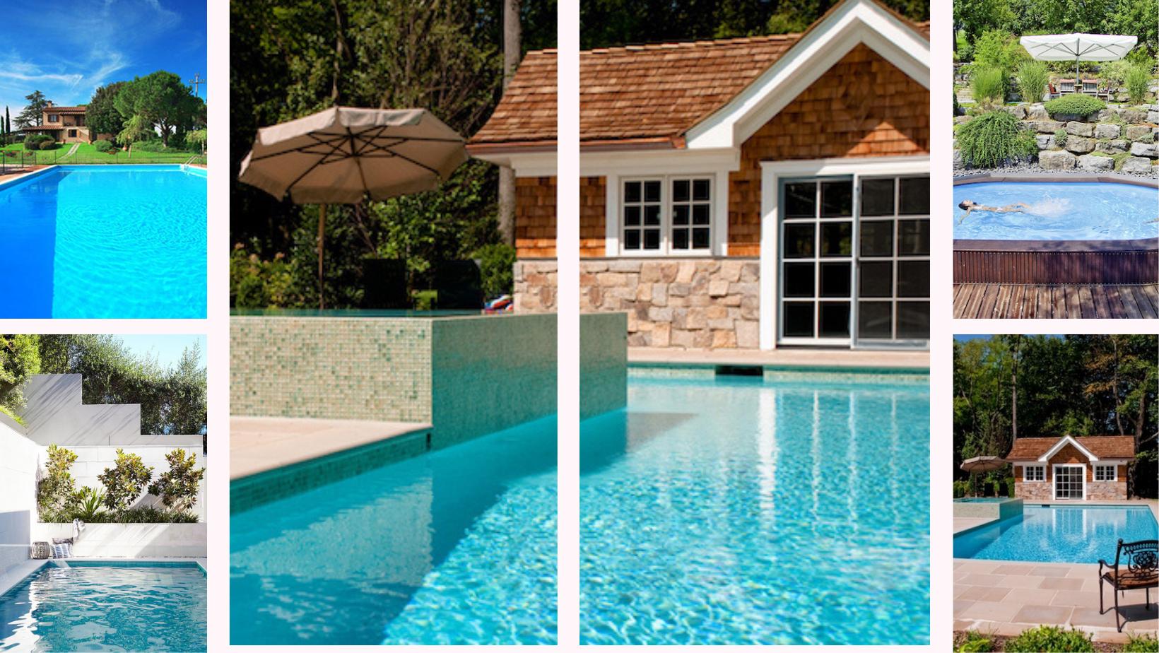 O casă cu piscină…la țară