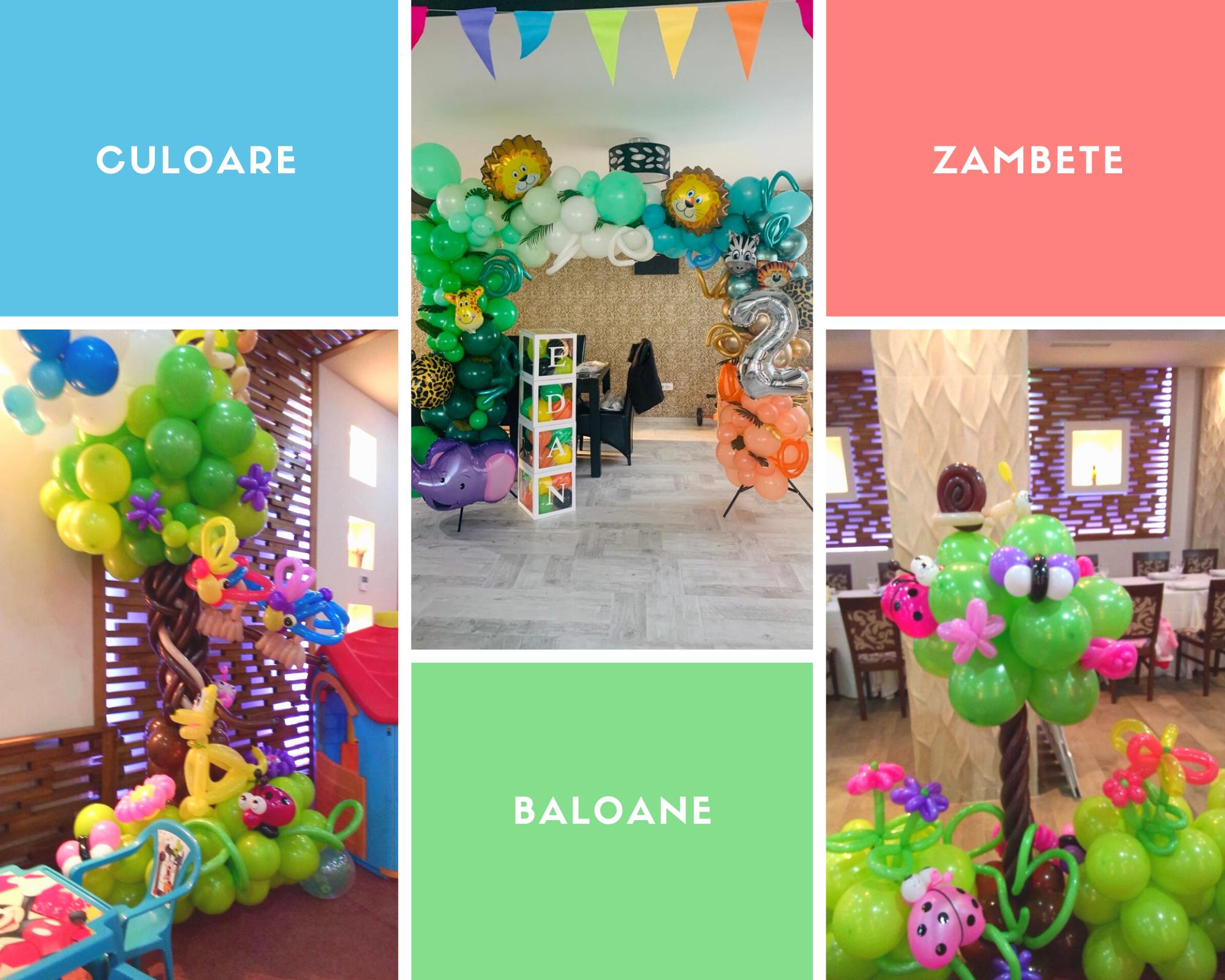 Zambete, culoare si multe baloane