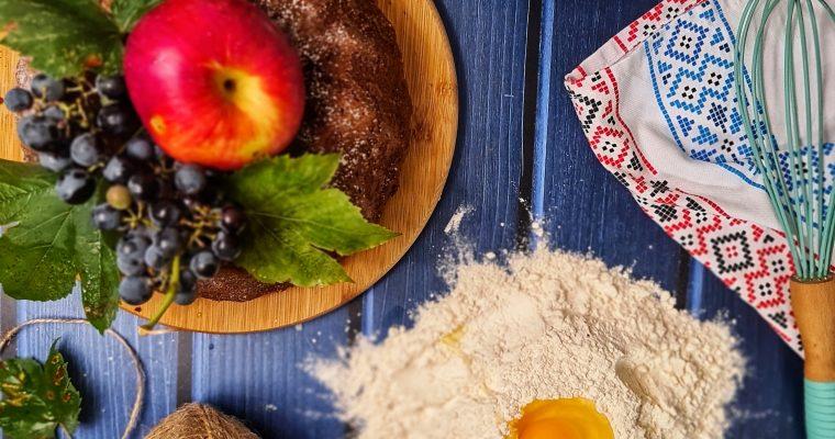 Bundt cake cu crema de arahide si cacao fara zahar